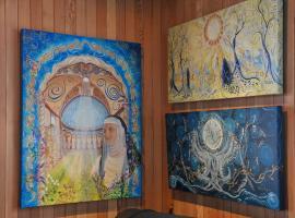 Turquoiz Café, Gîte et Galerie d'Art, La Martre