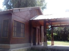 Cabaña el Chacho, Vaqueros