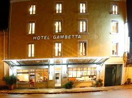 Hôtel Gambetta, Lons-le-Saunier
