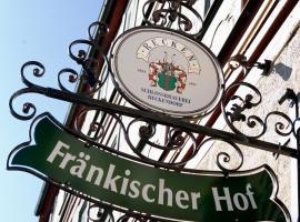 Fränkischer Hof, Hofheim in Unterfranken