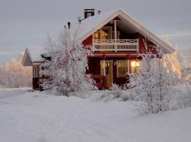 Lovely Cottage by Ounasjoki, Marraskoski