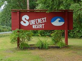 SurfCrest Resort Condominiums, Copalis Beach