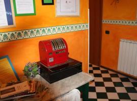 La Casa Rosa, 보르게토 디 바라