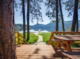 Idyllic Lakefront Home, Spirit Lake