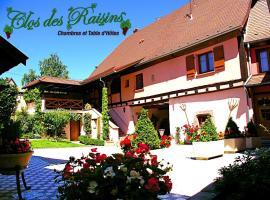Chambre d'Hôtes Le Clos des Raisins, Beblenheim