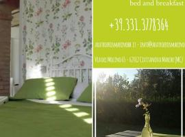 Bed and breakfast Aratro & Rosmarino, Civitanova Marche