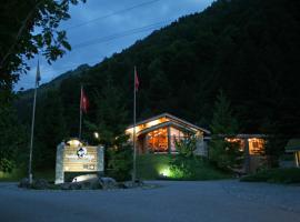Hüttenhotel Husky Lodge, Muotathal
