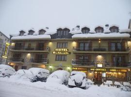 Hotel Llibrada, Бенаске