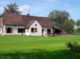 Maison de Sologne pour 9 personnes idéal pour les amoureux de la nature, Ardon