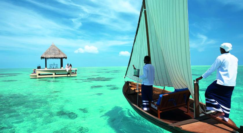 Taj Exotica Resort & Spa is 8 km from Malé International Airport, which takes 15 minutes by a private speedboat available 24 hours a day.