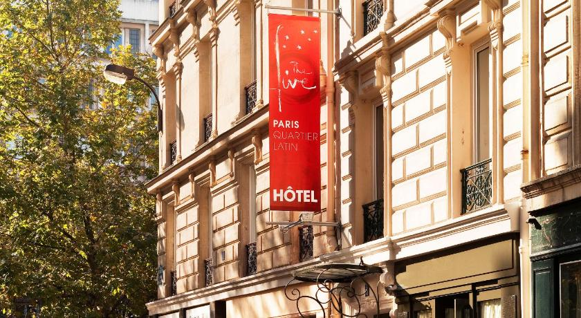 Five boutique hotel paris quartier france for Hotel paris telephone