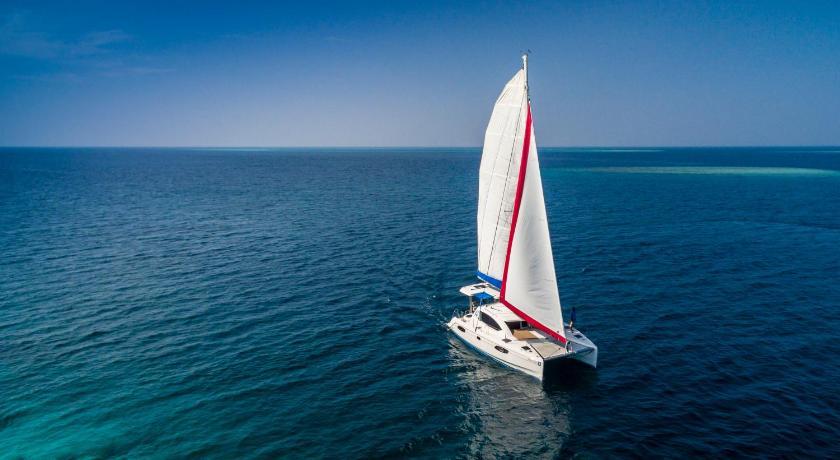 На яхте Sunkissed можно отправится в круиз по Мальдивам прямо из аэропорта