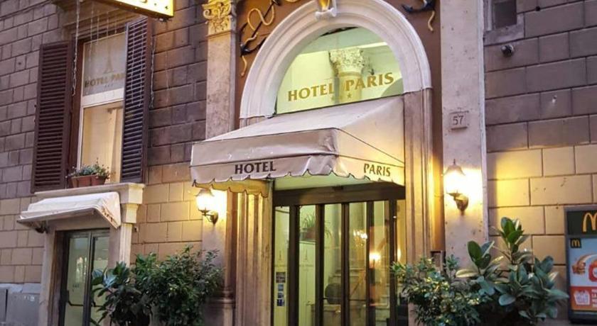 Hotel Paris Rome Italy
