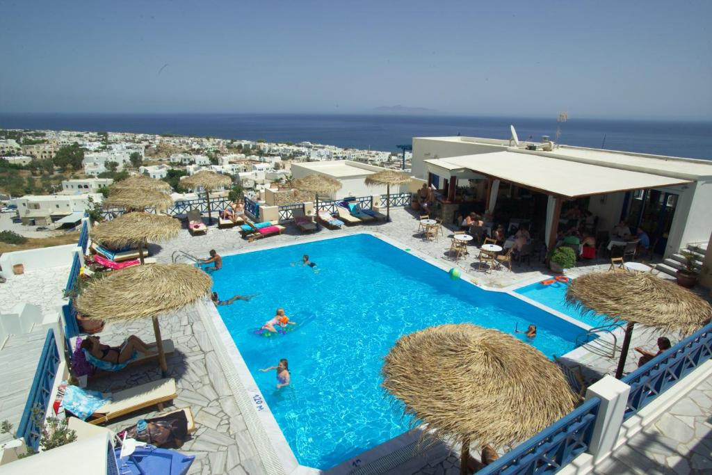 A view of the pool at Aegean View Hotel or nearby