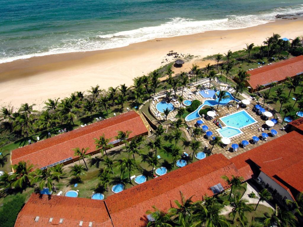 A bird's-eye view of Hotel Marsol Beach Resort