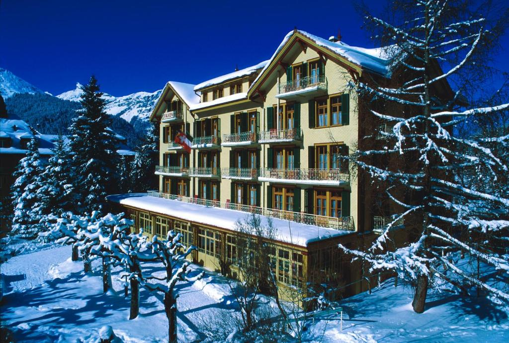 Hotel Falken Wengen Switzerland Bookingcom