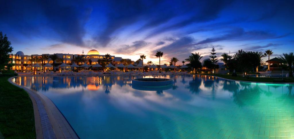 The swimming pool at or near lti Djerba Plaza Thalasso & Spa
