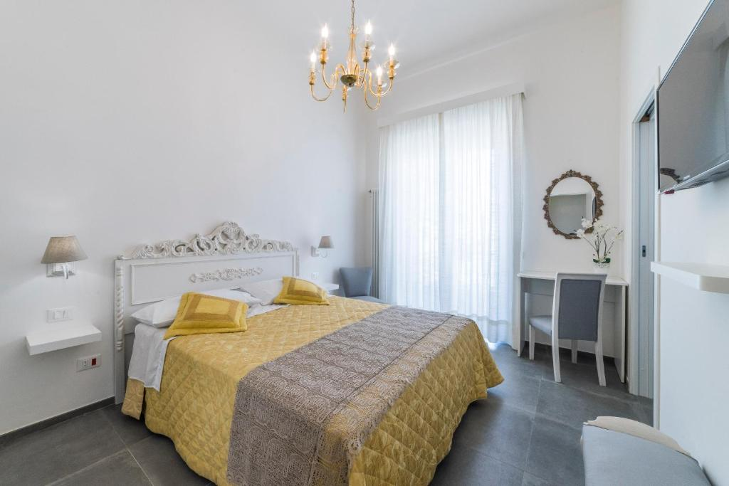 A bed or beds in a room at Incentro