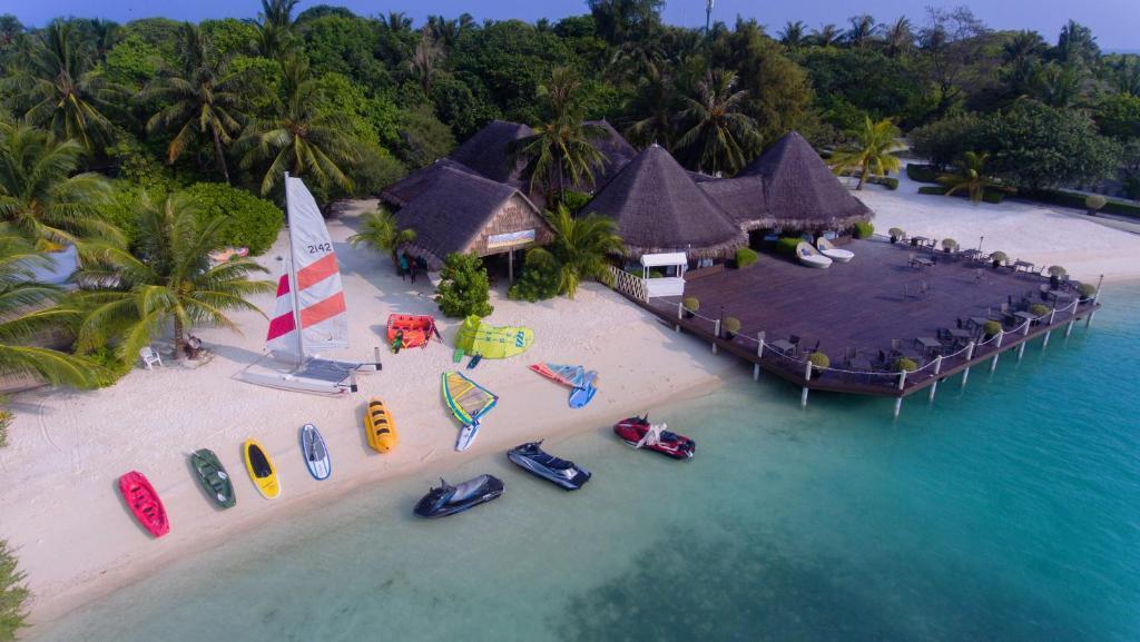 Серфинг на Мальдивах отель