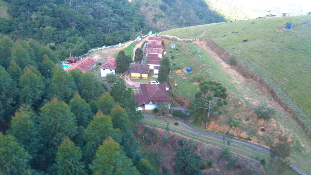 A bird's-eye view of Hotel Fazenda Selva do Mato Limpo