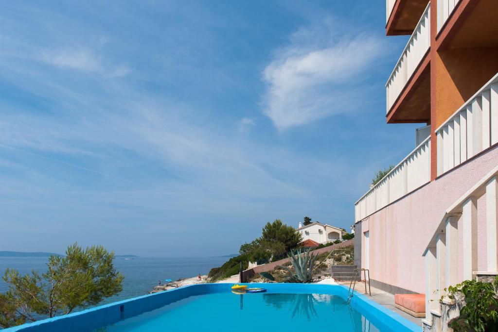 The swimming pool at or near Oceanus