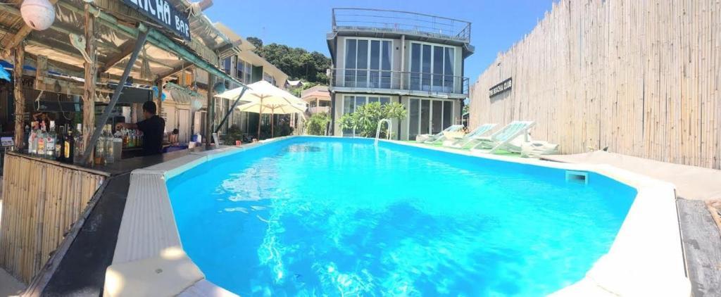The swimming pool at or near The Beacha Club Hotel