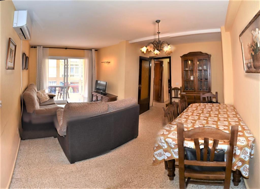A seating area at Apartamento Benahavis - Fuengirola | 3615