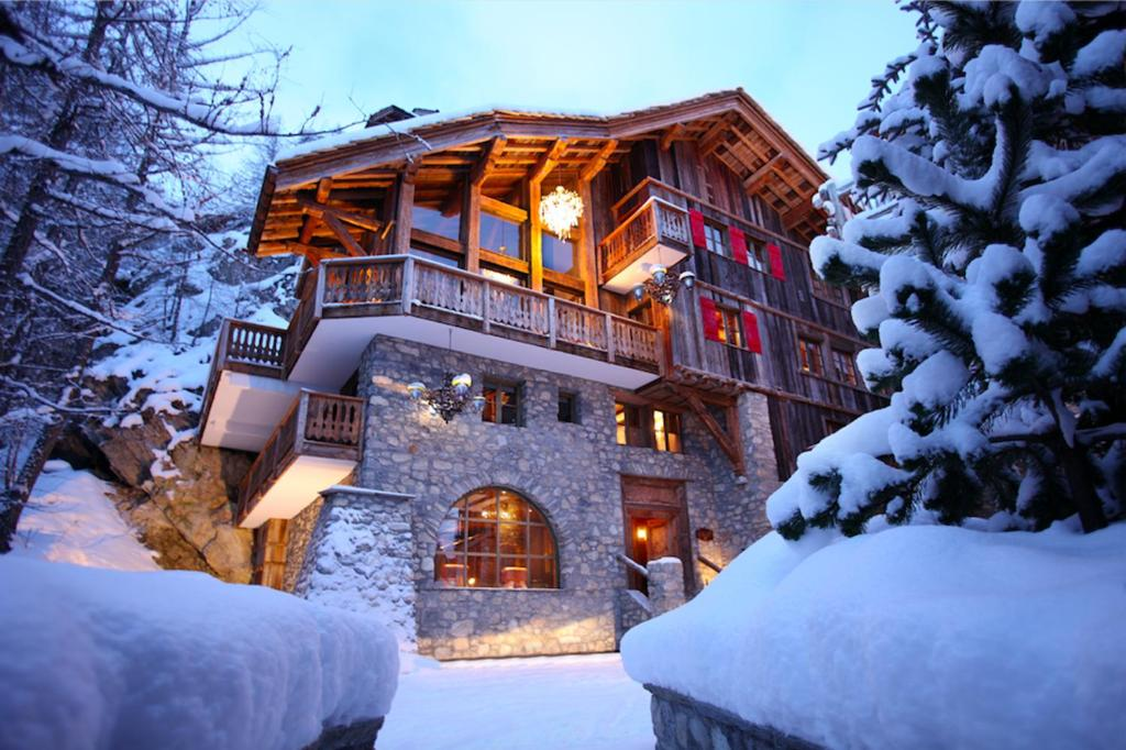 Exceptionnel Chalet LE ROCHER During The Winter
