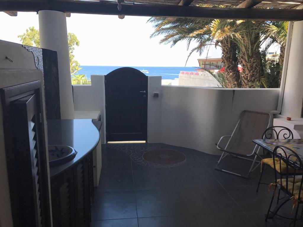 A balcony or terrace at Casa Lorenzo