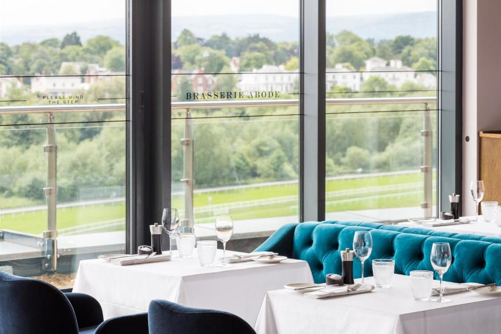 A restaurant or other place to eat at ABode Chester