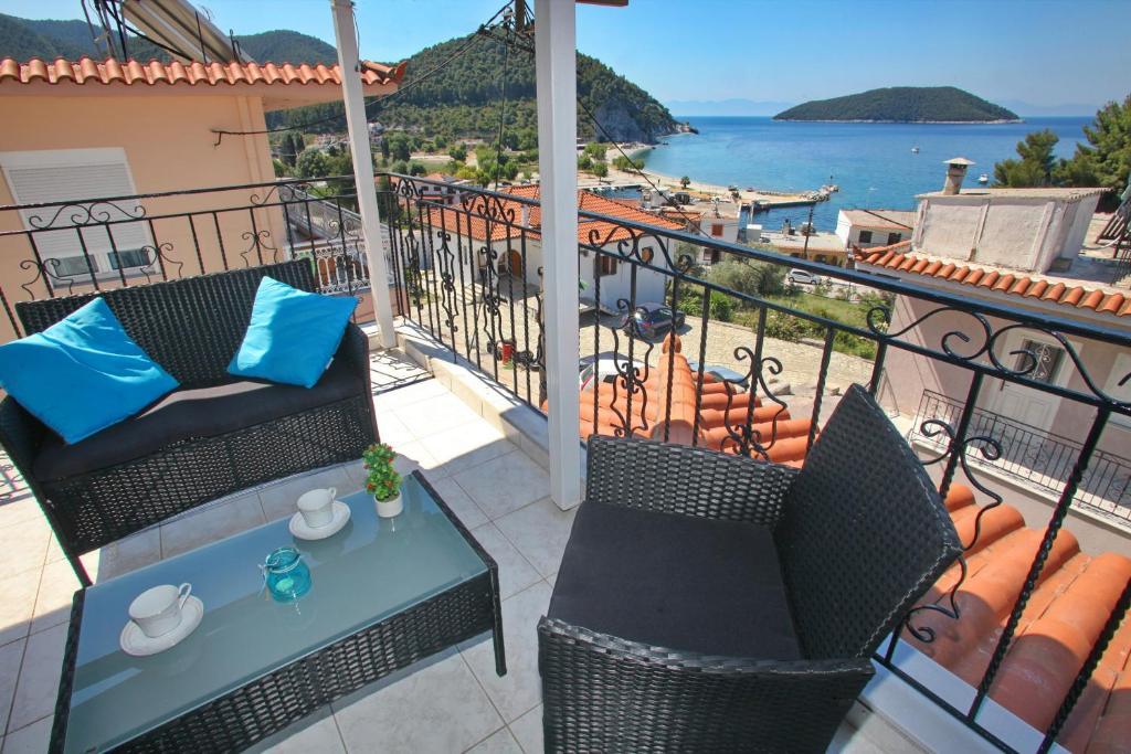 A balcony or terrace at Mariren