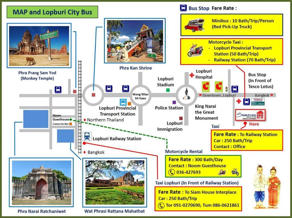 Lopburi Thailand Map.Hotel Siam House Interplace Lop Buri Thailand Booking Com