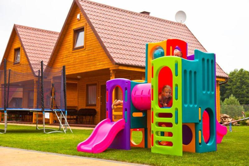 Children's play area at AmberDomki