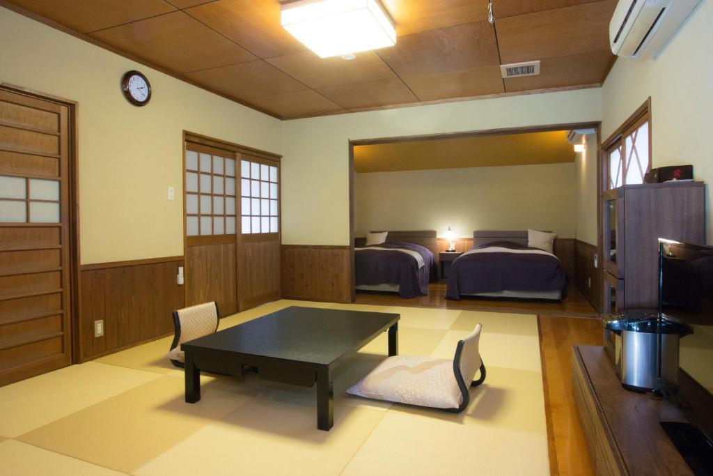 ポイント1.お風呂が豪華な客室