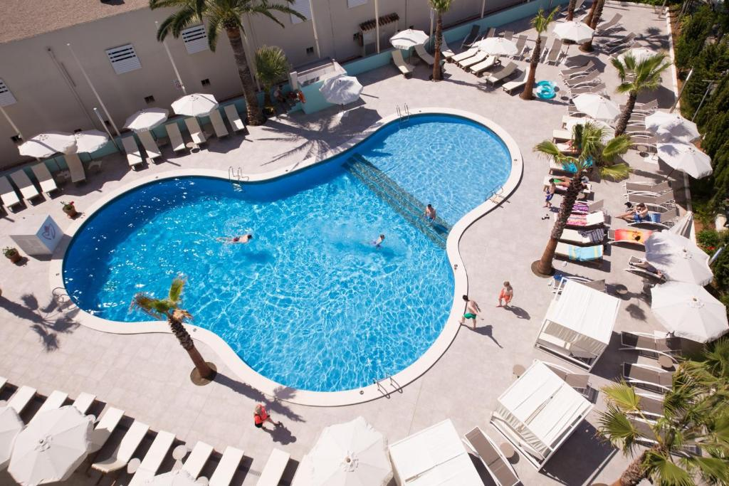 A View Of The Pool At Bh Mallorca Apartments Or Nearby