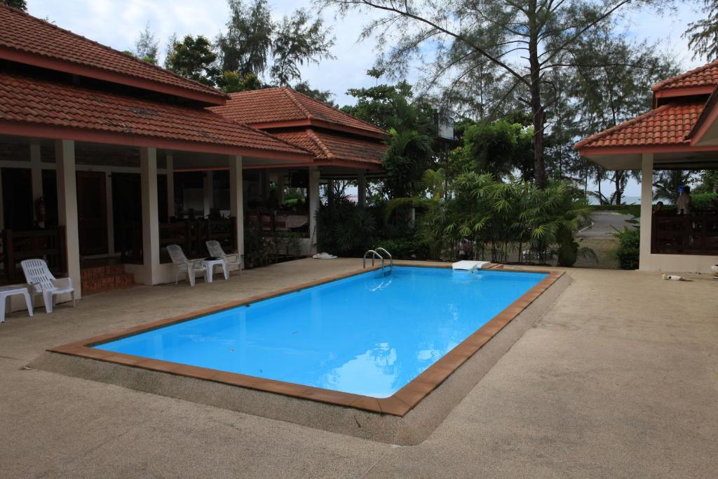 The swimming pool at or near Chaya Resort