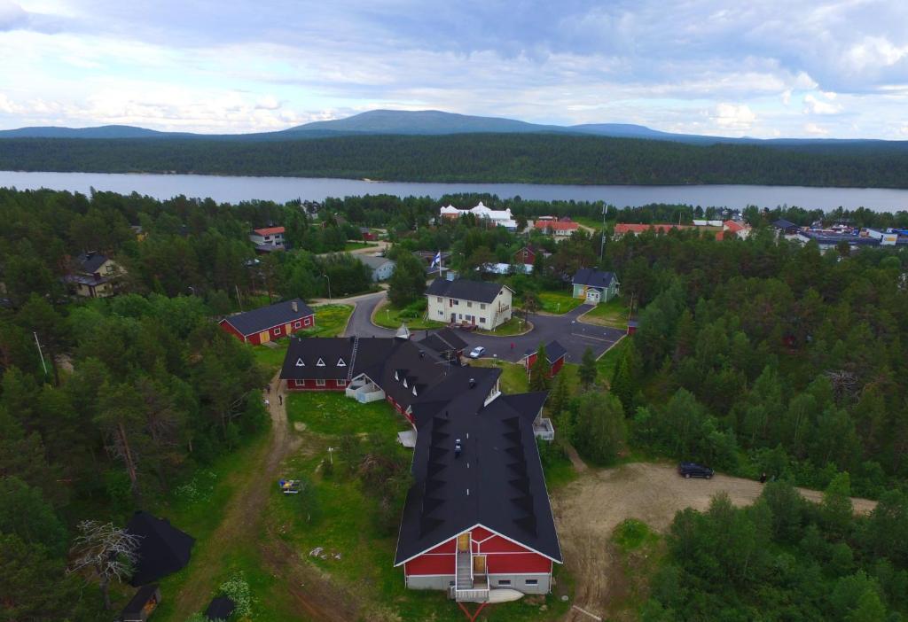 A bird's-eye view of Hotel Hetan Majatalo