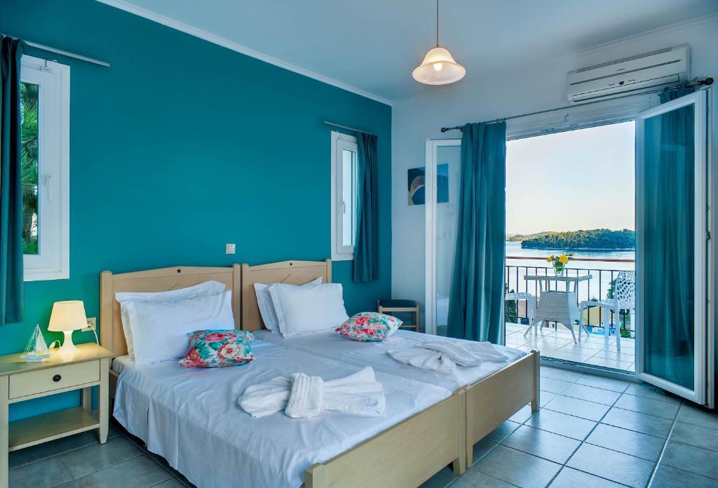 Ένα ή περισσότερα κρεβάτια σε δωμάτιο στο San Lazzaro