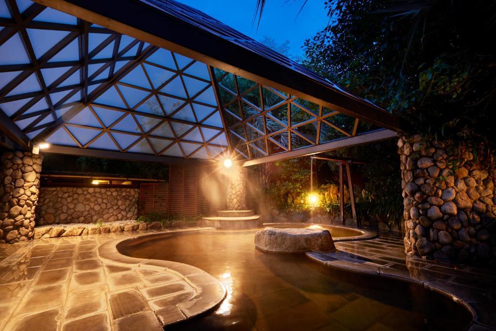 ポイント2.幻想的な世界を楽しめる露天風呂