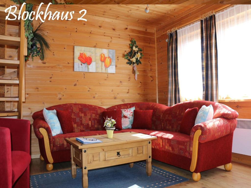 Ferienhaus Der Fuchsbau Blockhaus 2 - Hunde willkommen (Deutschland ...