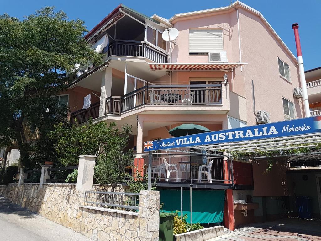 apartments australia makarska croatia booking com