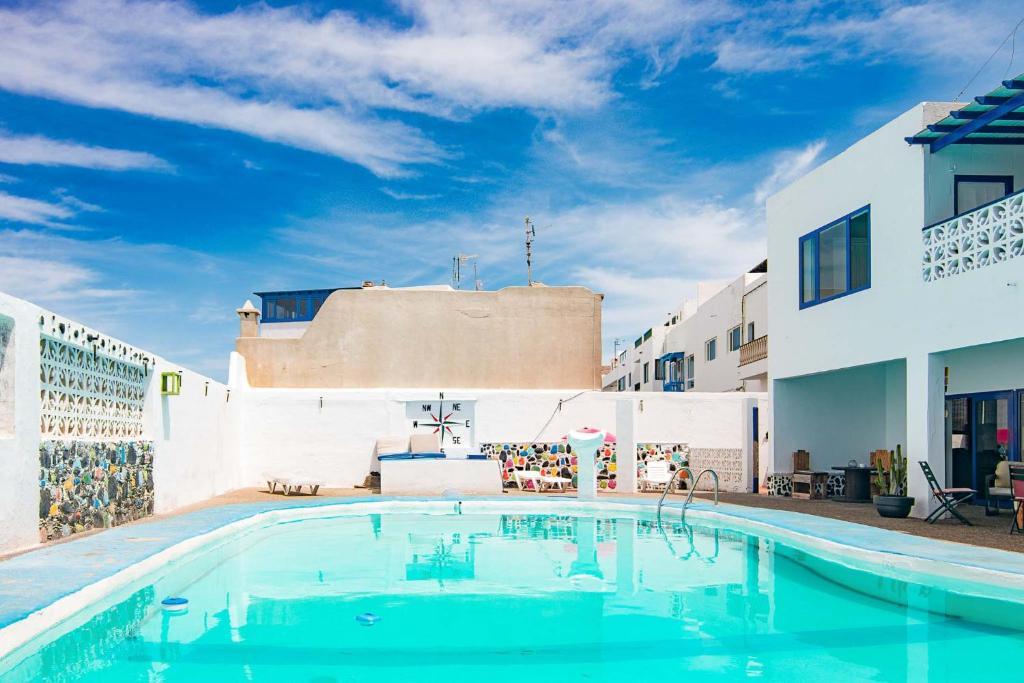 The swimming pool at or near La Santa House