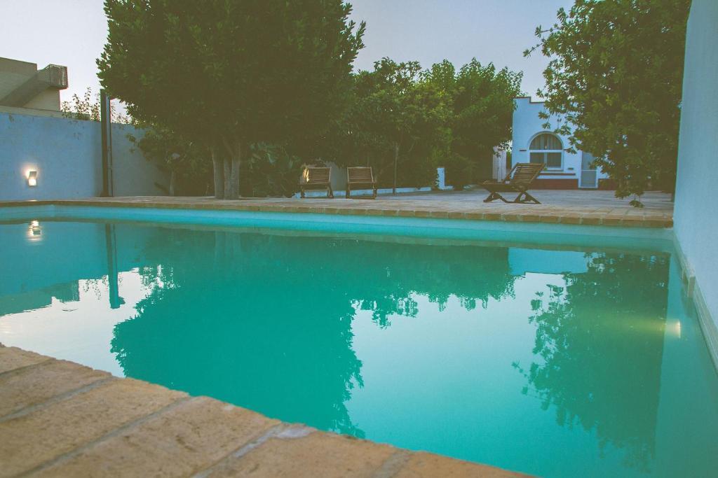 The swimming pool at or near Casa Bofranch