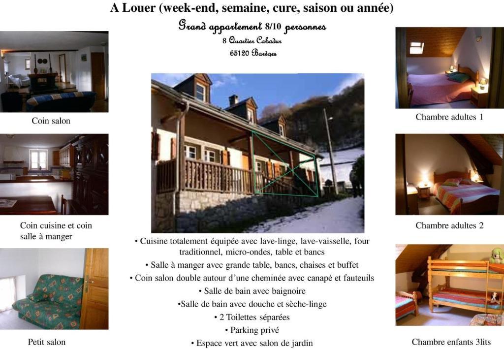 Vacation Home Bareges Louisette, Barèges, France - Booking.com
