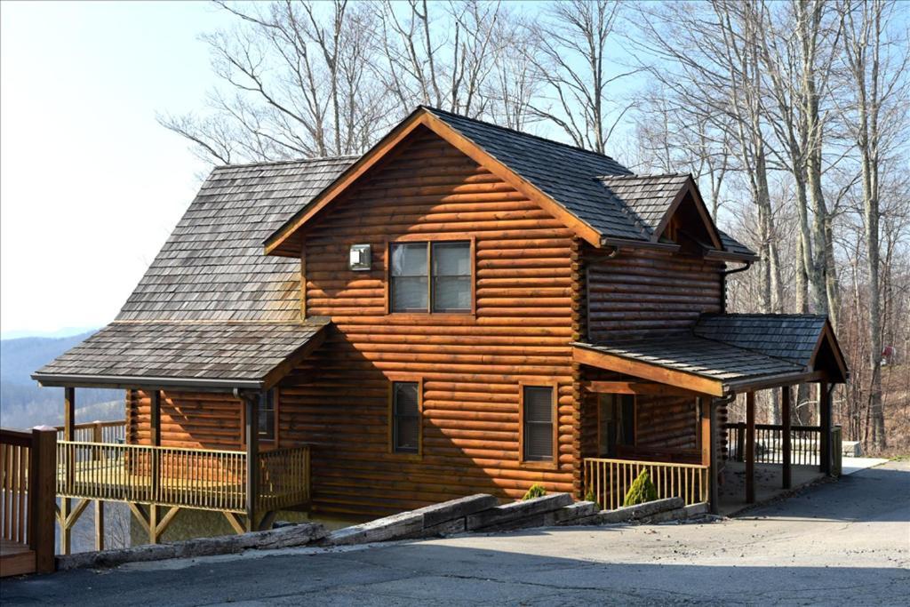 Black Bear Lodge At Scenic Wolf Resort Cabin Mars Hill