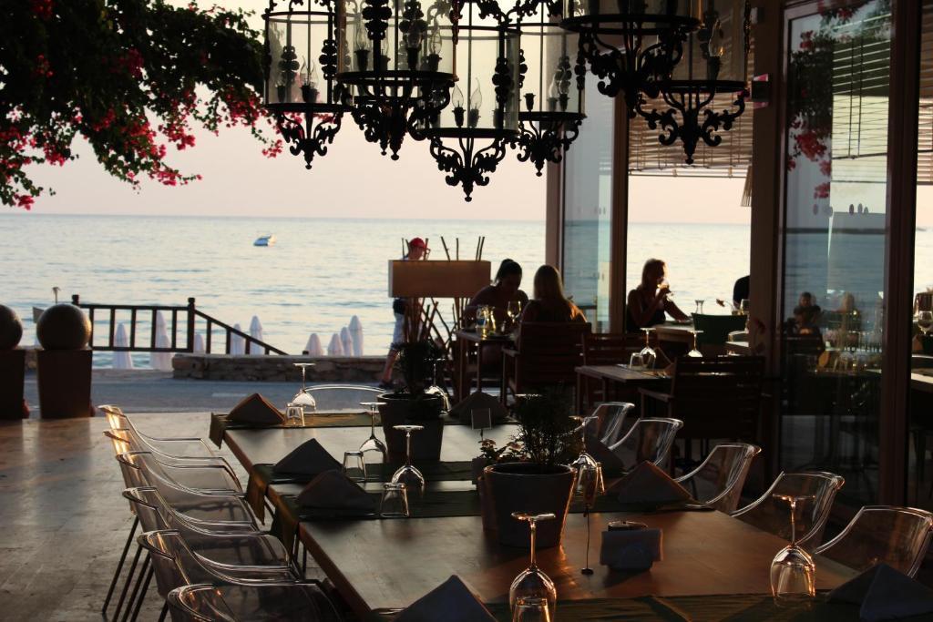 Restorāns vai citas vietas, kur ieturēt maltīti, naktsmītnē Sunprime Dogan Side Beach - Adult Only (+16)