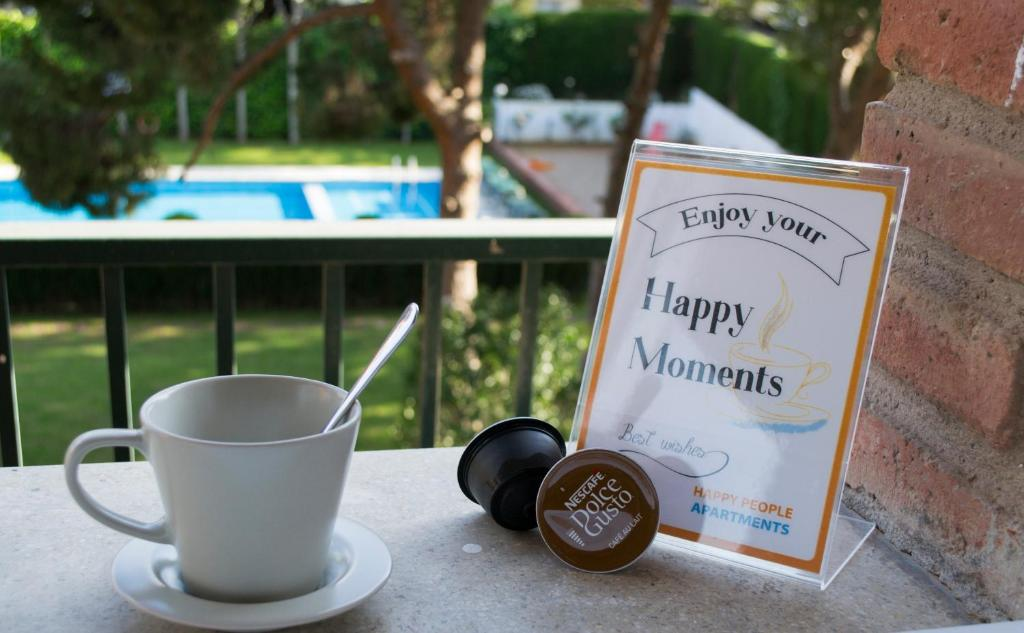 A view of the pool at Happy People Maragall or nearby