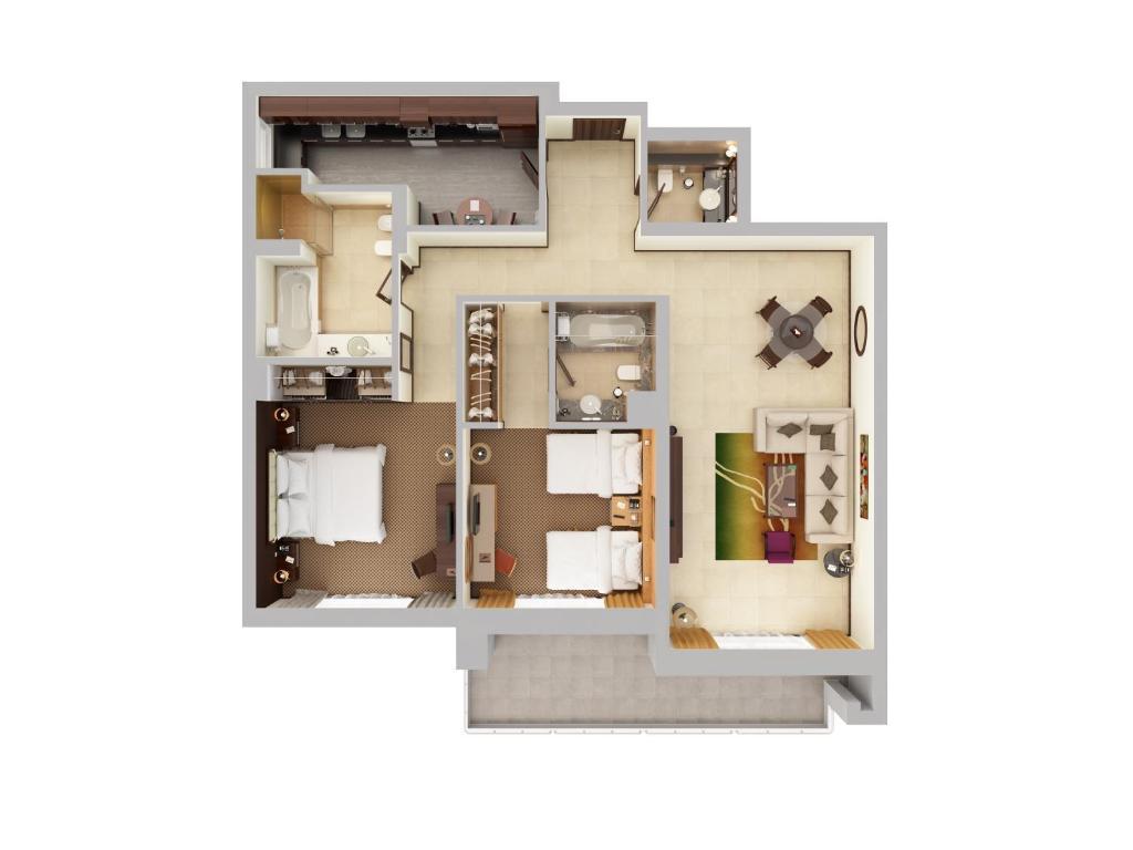 Flora Park Deluxe Hotel Apartments Dubai Uae Booking Com
