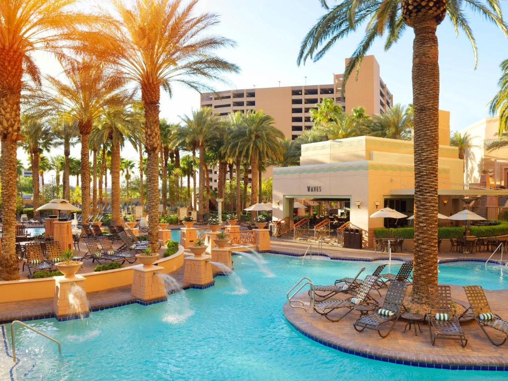 resort hilton grand vacations suites, las vegas, nv - booking