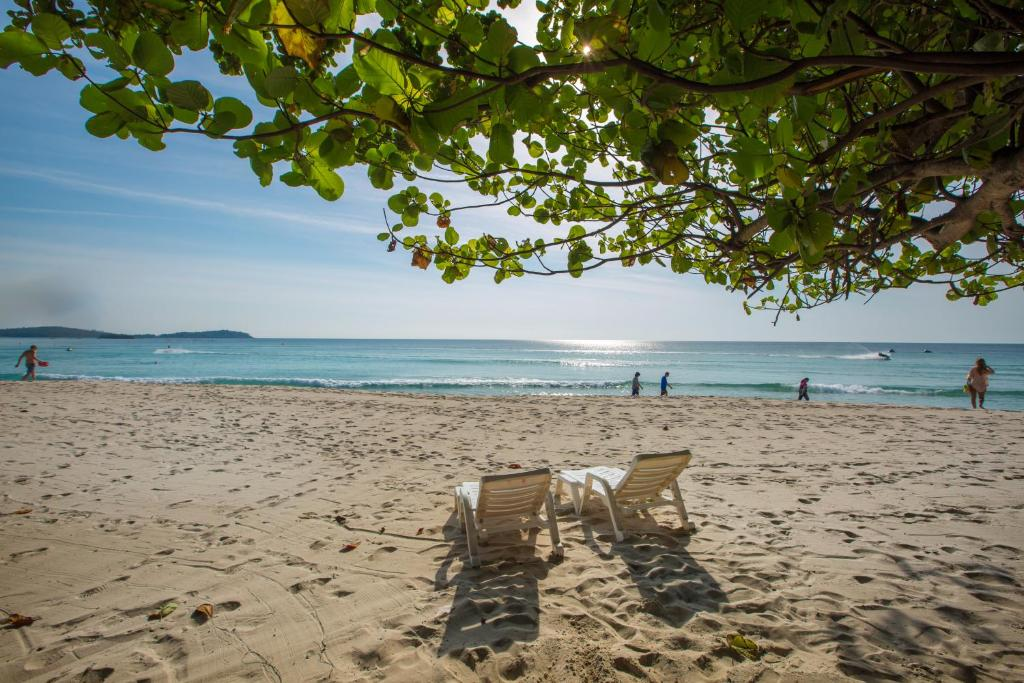 Long Beach Lodge Chaweng Beach Koh Samui Thailand Strand Von